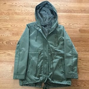 Forever 21 Army Green Utility Jacket